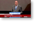 Direct Democracy Video: No integrity - BBC political editor heckles Salmond after being caught lying on BBC website